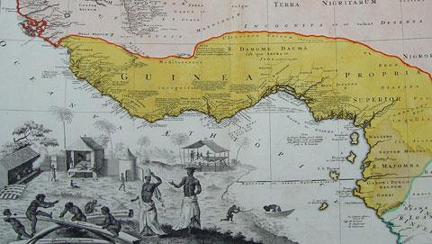 kaart-van-guinea-van-homann